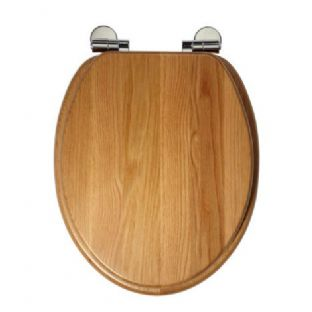Roper Rhodes - Traditional Soft Close Toilet Seat (Oak) - 8081NOSC